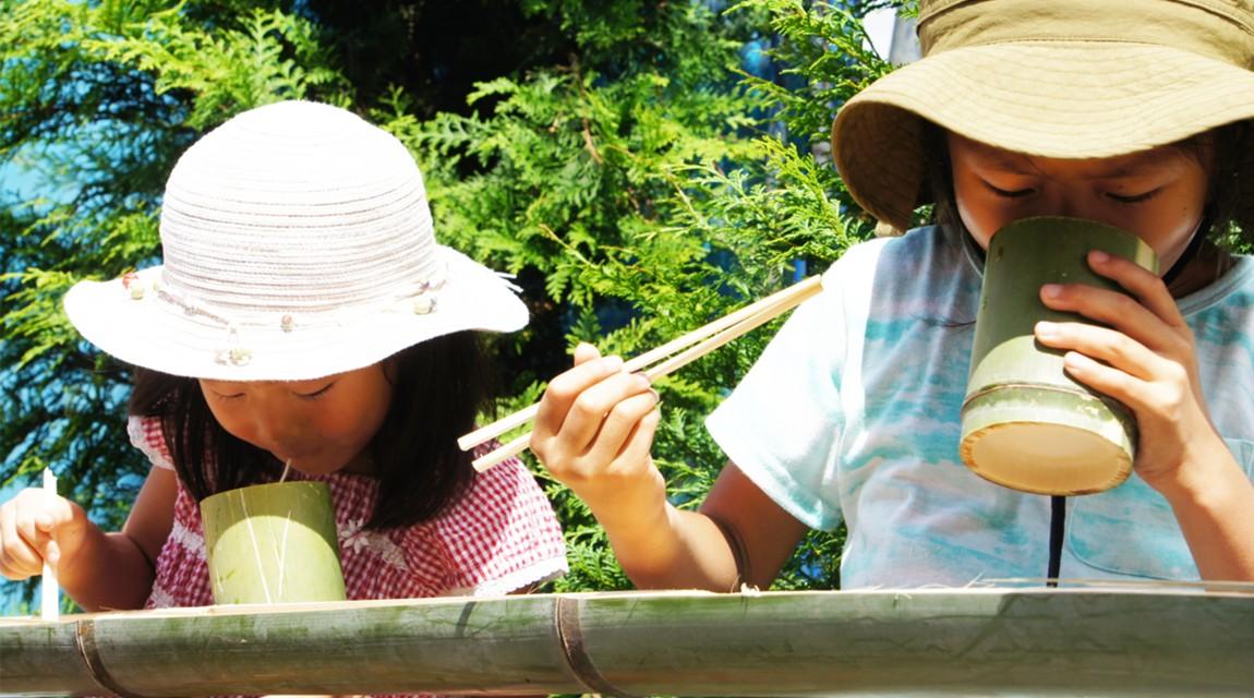 【千葉・木更津】今年もやります大人気プラン!森本農園で採れたて野菜の天ぷら&流しそうめん