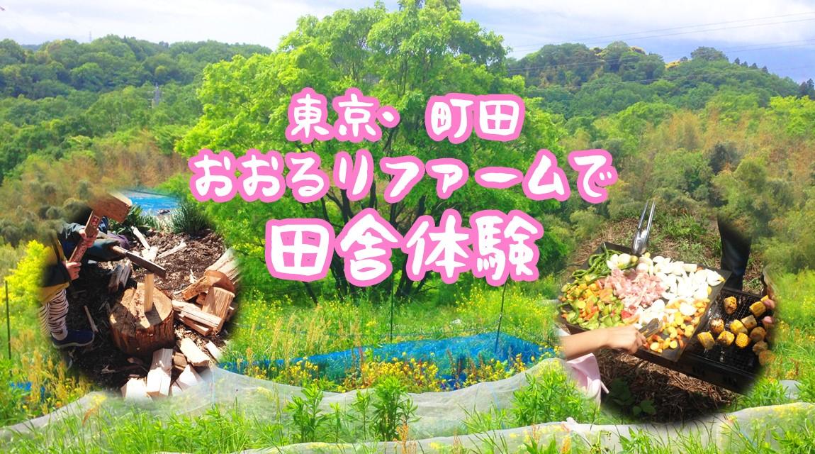 【東京・町田】自然と密着★田舎体験!旬の野菜でBBQ&羽釜で炊き込みごはん!