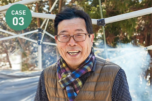 山根 富佐郎さん:自然体験