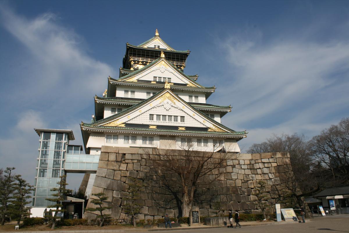 大阪城の外観