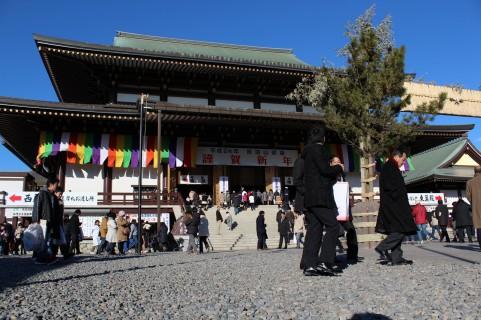 成田山新勝寺の外観