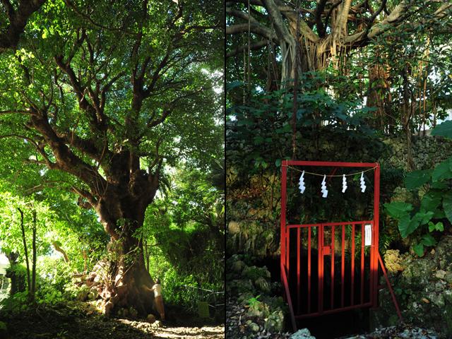 琉球八社の一つである識名宮