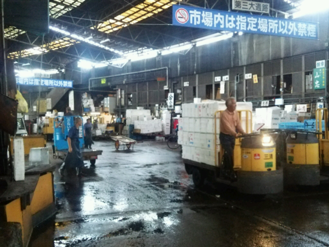 築地市場のイメージ