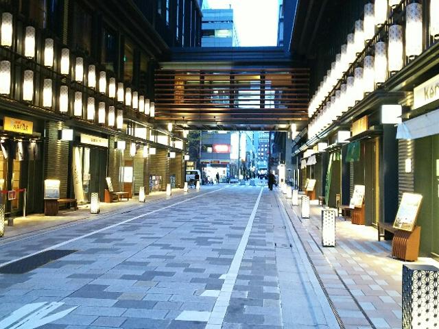 現代の日本橋界隈