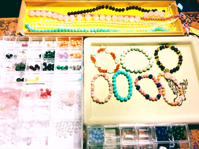 数珠づくり